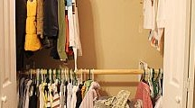 closet ideas (affordable) / by Denise McWhorter