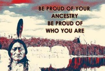 FIRST AMERICANS / A collage of Native American art, beadwork, jewelry, vintage photos & people. / by Glittering World
