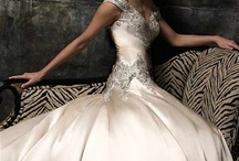 NO MY DAUGHTER IS NOT GETTING MARRIED I JUST LIKE WEDDING GOWNS-MOB - maybe...someday / by Linda Hamilton