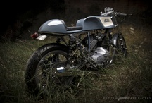 Curious custom motorcycles / From the rare to the obscure. Spotting a custom motorcycle like these on the street is a rare treat. / by Return of the Cafe Racers