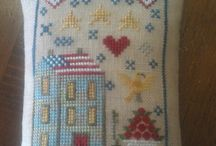 Counted cross stitch / by Charlene Coolidge
