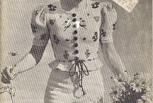 Vintage Patterns: Knits / Vintage knitwear patterns / by Cosmo