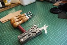 Leather crafting / by Ali James