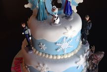 Alyssa and Kylie's Frozen Birthday 2014 / by Courtney Blackler