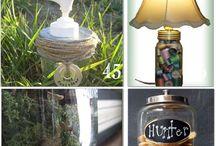 Mason Jar ideas / by Renia Lott