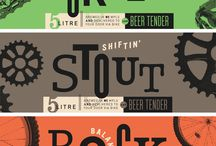 beer label inspiration / by Kristen Todoroff