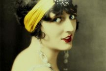 1920s headdress / Feathers, turbans, bling, and the bob / by Lily Kao