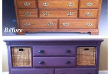 Dresser Re-Purpose / by Erin Seifert