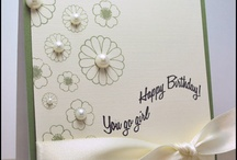 Homemade Cards Birthday  / by Kristin Sauvage-Leindecker