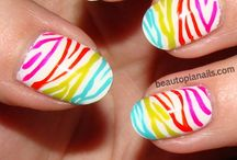 Nail Art Craziness / An art form all of its own. / by Laura Clark