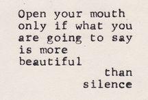 words / by Joanna Ballentine