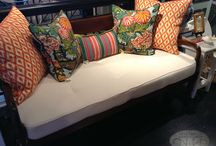 Ottomans & Benches / by Nell Hill's