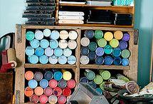 Organization! / by Katie Riddle Richards