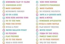 Summer Bucket List / Things WE GOTTA do this Summer!!! / by Ornaments and More