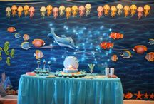 Under the Sea birthday party / Under the sea birthday party perfect for Little Mermaid or Finding Nemo. / by chicaandjo