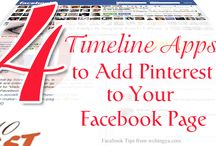 Pinterest for Facebook / by Pinterest Mastery