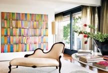Vignettes d' Interieurs / J'aime l'espace, interiors that inspire me. / by Lulu Klein