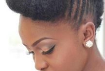 The Ultimate Natural Hair Bride Inspiration Board / by 4C Hair Chick Natural Hair Community