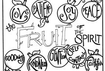 fruits of spirit / by Heather Hutchings Rogers