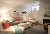 Basement Reno Ideas / by Jane Bolduc Kovash