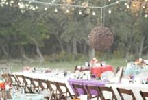 Backyard Wedding / Fun backyard wedding inspiration / by Shannon