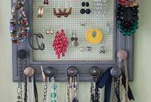 Ideas of jewelry storage / by Inga Glukhova