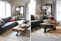 Before & After / Are you a B&A junkie? Check out our collection of before and after photos - a rug can make all the difference in any space in or outside of your home!   / by Mohawk Home
