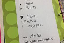 Bullet Journaling / by Sharon Lawrence Smith