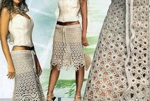 CROCHET Skirts and Shorts / by Miriam cordero