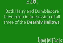 Harry Potter Stuff / by Melissa Burger