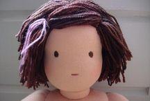 Dolls and stuffies / by Liza Bennett