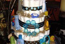 Diaper Cakes / by Kayla Hatcher