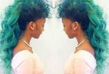 Colorful hair!!! / by Faith D