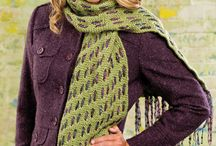 Free Scarf of the Week Knitting Patterns / Free knitting scarf of the week patterns featured in season 4 of Knit and Crochet Now! TV.  / by Knit and Crochet Now!