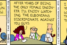 Dilbert Cartoons / by Jerri Lindley