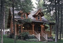 Cabin Fever / I love living in a log home! This board is dedicated to log cabin living, indoors & out, rustic decor & a few western cowboy things here & there. / by Noelle L.