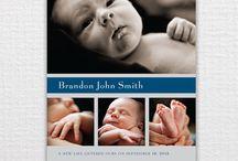 Birth announcement  / by Randalynn Wrinkle