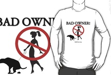 Shameless Plug / We aren't in this for the money.  If we make a few people laugh and in the process bring awareness to the world of the poo epidemic, then we did our job.  Having said that, buy our t-shirt!    http://www.redbubble.com/people/badowner/works/8639266-badowner-clothes-sick-of-the-poo / by BadOwner