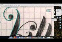 Lettering / by Jean-Philippe Cabaroc