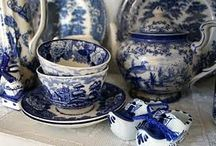 blue & white china / by Margaret Saldivar
