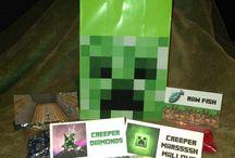 Boys Minecraft Birthday ideas / by Leann Priebe