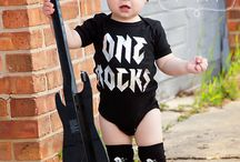 Brayden's first birthday- Rockstar theme / by Amanda Rae Stewart