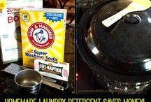 Laundry Recipes, Tips and Helpful Hints / by Lauras Little House Tips