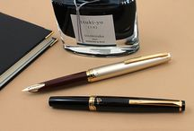 Fountain Pen Love / Whether you're fountain pen beginner or a well-seasoned veteran, you can find the perfect pen that suits your needs. From low-cost disposable pens to luxe pens fit for royalty, these are our favorite fountain pens and the accessories that go with them.  / by JetPens