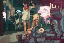 Infornography / Artsy Videogames, Lovely Websites, Hardcode Pr0n, Interactive Media / by Jacinto Quesnel