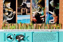 Aquarium scrapbook pages / by Amy Sherman