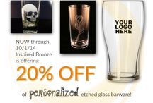 IB Promotions / Offers on awards, trophies, promotional items, and gifts from Inspired Bronze and the IB award Store past and present / by Inspired Bronze