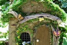Faerie Dwellings #fairygarden / fairy gardens and fairy houses / by Ilona's Garden