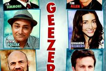 """3 Geezers! (Movie) / (Short Synopsis) """"It's Cocoon meets The Hangover in this hilarious romp through the golden years."""" (Starring) J.K. Simmons (TNT's The Closer, Up in the Air, Spider-man 1 & 2), Tim Allen (ABC's Last Man Standing & Home Improvement, The Santa Clause 1-3, Toy Story 1-4), Mike O'Malley (FOX's Glee, Eat Pray Love), Kevin Pollak (TV's Kevin Pollak's Chat Show, A Few Good Men), Basil Hoffman (The Artist, The Box), and Randy Couture (The Expendables 1 & 2). / by Green Apple Entertainment"""
