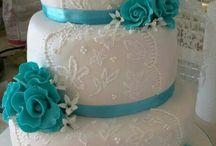 tarta de boda / by Mónica Viz